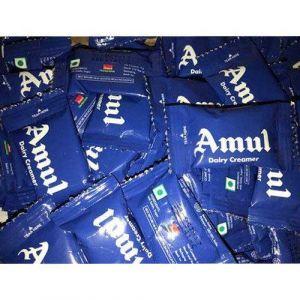 Amul Dairy Creamer, 120sachets x 3g (360g)