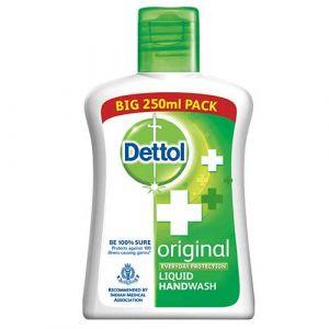 Dettol Original Handwash Liquid Soap Flip Top, 250ml