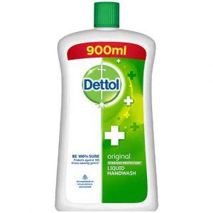 Dettol Original Handwash Liquid Soap Jar, 900ml