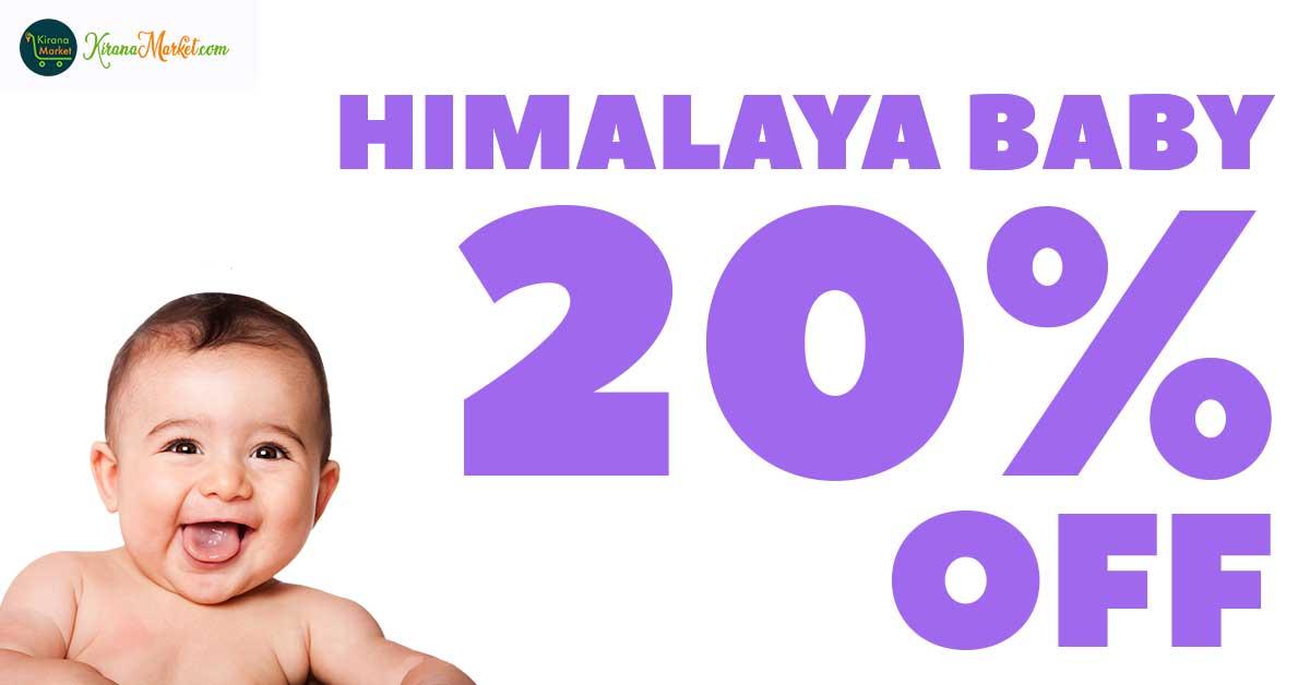 Himalaya Baby Products Flat 20% Discount