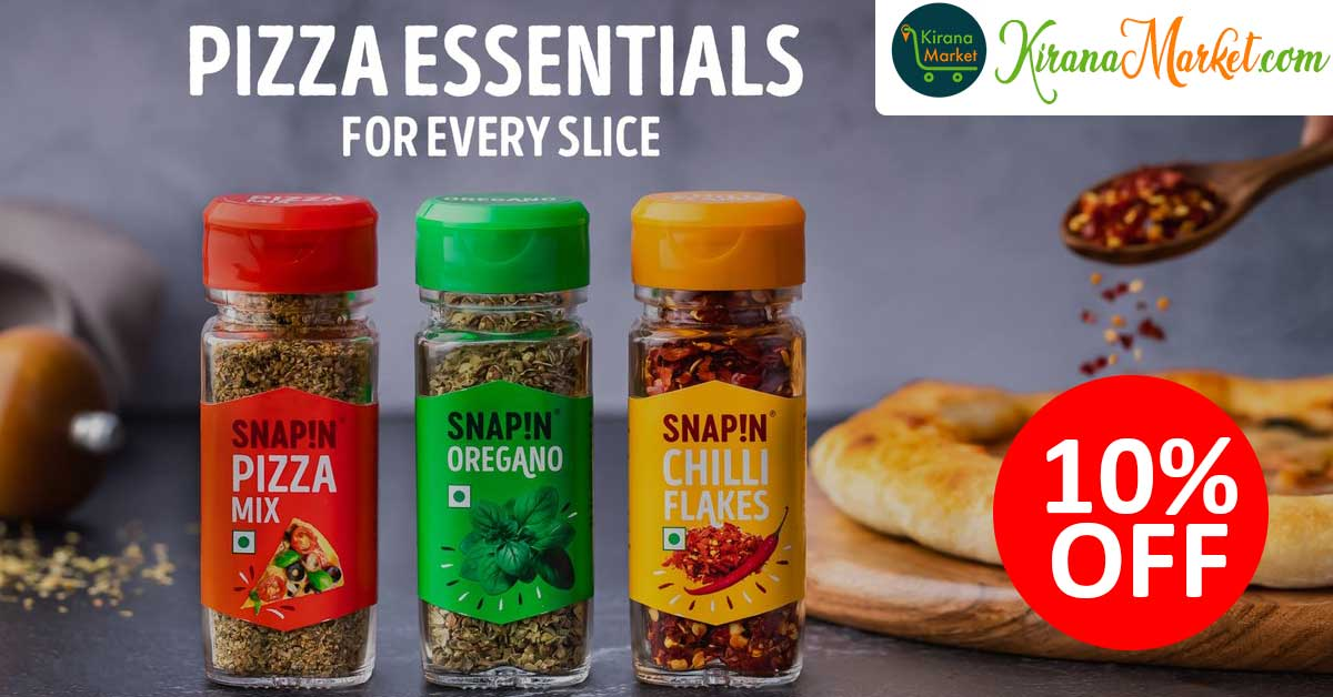 Snapin Spices for Every Pizza Slices