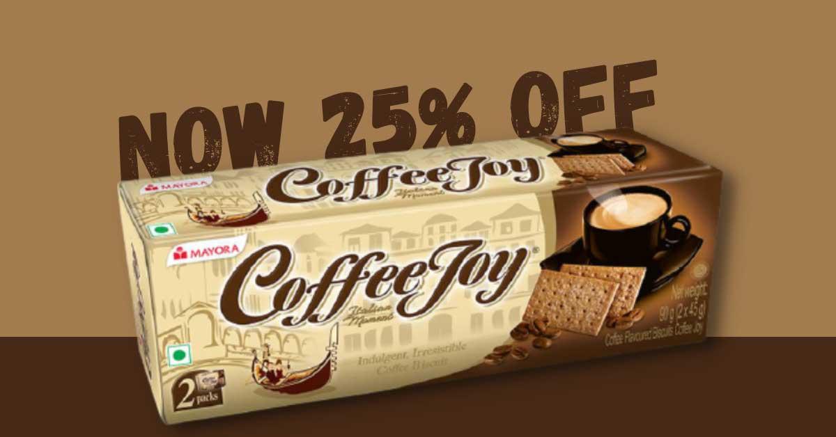 Mayora Coffee Joy Thin Crackers